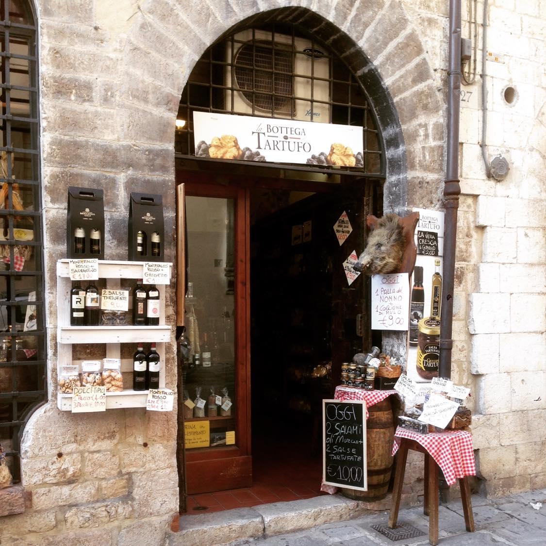 Butik i Gubbio