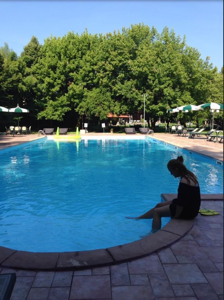 Maja ved pool