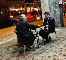 Aftenstemning i Bari